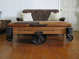 Industrial Cart Coffee Table Coffee Table Factory Cart Craigslist Railroad Cart For Sale