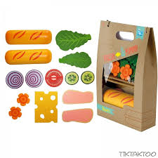 zubehör kinderküche holz beluga food bag kaufladen kinderküche zubehör holz spielzeug