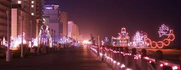 va beach christmas lights mcdonald s holiday lights at the beach at the oceanfront in virginia