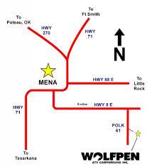 Find Map Coordinates Find Us Wolfpen Atv Campground