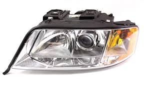 audi a6 headlights lh genuine xenon hid head light lamp 00 01 audi a6 v6 headlight