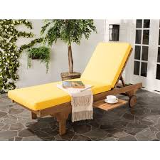 Patio Furniture Lounge Chair Wood Outdoor Chaise Lounges Patio Chairs The Home Depot