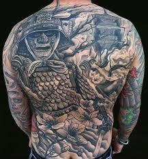 tattoo back japanese ghost warrior japanese tattoo back best tattoo ideas gallery