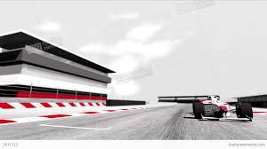 formula 3 vs formula 1 4k formula 1 car on race track v6 3 stock animation 2911123