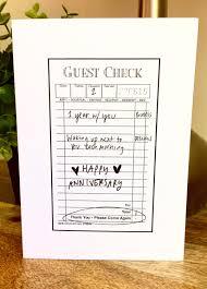 paper anniversary one year anniversary card for husband paper anniversary card for