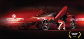 ferrari concept ferrari sempre on behance