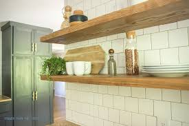 kitchenshelves com how to install heavy duty floating shelves for the kitchen