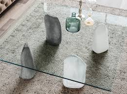 stone and glass coffee table stone coffee table by cattelan italia 995 00