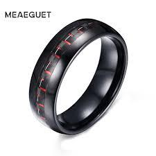 aliexpress buy u7 classic fashion wedding band rings aliexpress buy meaeguet classic 8mm wide men s black