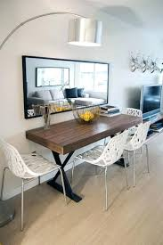 wall decor 10 narrow dining tables for a small dining room