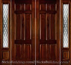 Double Glazed Wooden Front Doors by Front Doors Front Double Door Designs For Indian Homes Design