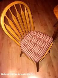 Dining Chair Foam Checkers Dining Chair Pads Foam Fill Farmhouse