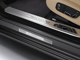 bentley door 2012 bentley mulsanne mulliner driving specification door sill