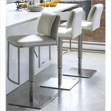 white leather swivel bar stools bar stool carmen leather bar stool walnut white pu leather bar
