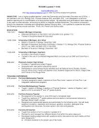resume cover page exle 2 exclusive idea biology resume elementary exles pictures