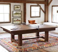 table tennis cover for pool table pottery barn