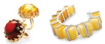 gold amber bracelet images Cij international jewellery trends colours highlights amber 39 s jpg