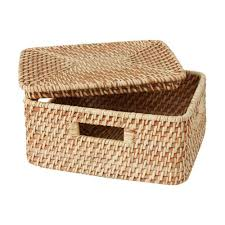 Rattan Baskets by Extra Small Stackable Rattan Basket Aki Home Furniture U0026 Home