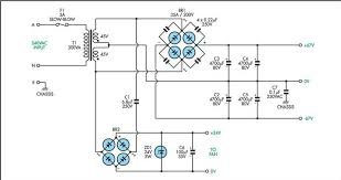 200w mosfet power amplifier electronic circuit