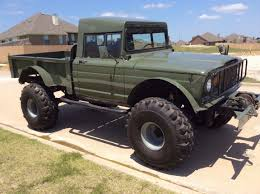 jeep eagle lifted lifted jeep hummer m715 military rock crawler truck kaiser