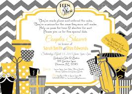 coed wedding shower invitations best shower