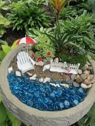 miniature beach garden miniatures gardens and beach