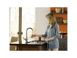 Pulldown Kitchen Faucet Faucet Com 7594c In Chrome By Moen