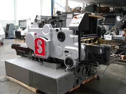 die cutters used finishing machines heidelberg sbgs die cutter