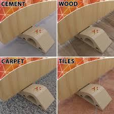 rubber door stopper decorative door stops floor door stop wedge
