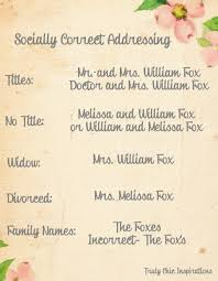 wedding invitations how to how to address wedding invitations to families blueklip