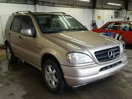 2001 mercedes ml320 auto auction ended on vin 4jgab54e11a249920 2001 mercedes