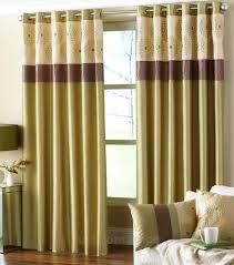 Green And Brown Curtains Clarimont Green Brown Designer Lined Curtains Green Curtains