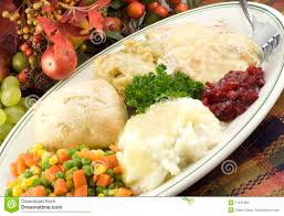 thanksgiving platter thanksgiving turkey dinner on platter stock image image of