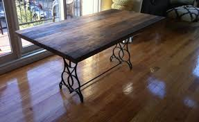 Building Dining Table Top How To Build A Reclaimed Wood Kitchen Dining Awesome Railway Dining Tables Making Your Own Table Top