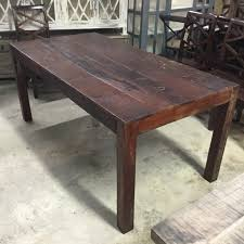 Salvaged Wood by Dining Tables Barn Wood Dining Room Table Reclaimed Barnwood