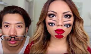 Youtube Halloween Makeup by This Trippy Halloween Makeup Tutorial Will Have You Seeing Double