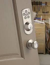 Exterior Door Knob Sets by Door Handles Door Handle Andctronic Deadbolt Set Exterior Lock