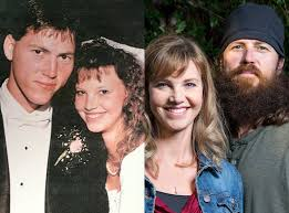 did you see duck dynasty willie from duck dynasty see the guys without their beards e news
