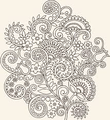 vintage flower ornaments vector free vector in encapsulated