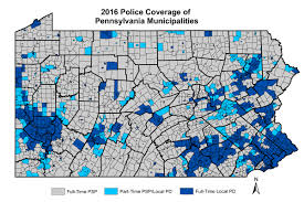 Reciprocity Map Half Of Pa Municipalities Rely Fully On State Police U2014 Keystone