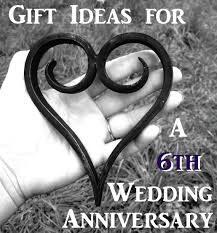 6th wedding anniversary gift ideas gift ideas for a sixth wedding anniversary pickurgift