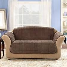 Loveseat Throw Cover Brown Slipcovers Kmart