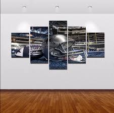 aliexpress com buy 5 piece canvas art sel 5 piece dallas cowboys
