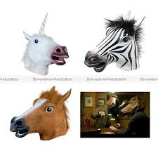 horse head mask spirit halloween compare prices on latex horses online shopping buy low price