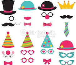 photo booth party props vector photo booth birthday party props vector thinkstock