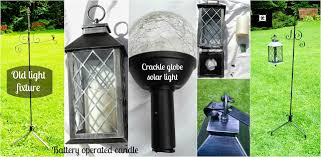 Crackle Globe Solar Lights by Cut The Cord Solar Lighting Part 2 Redo It Yourself