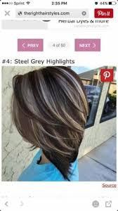 highlights for inverted bob best highlights for gray hair the best gray coverage in seattle