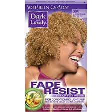 hair color light to dark amazon com softsheen carson dark and lovely fade resist rich