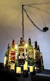Glass Bottle Chandelier Wine Bottle Chandelier Fancy Glass Bottle Chandelier Wine Bottle