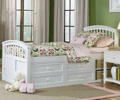 Twin Beds With Drawers House White Captains Bed Ne Kids